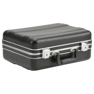 SKB Luggage Style Transport Case (1410-01) - Angled Closed