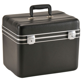SKB Luggage Style Transport Case (1410-02) - Angled Closed