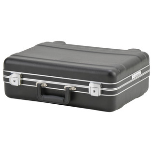 SKB Luggage Style Transport Case (1712-01) - Angled Closed 2