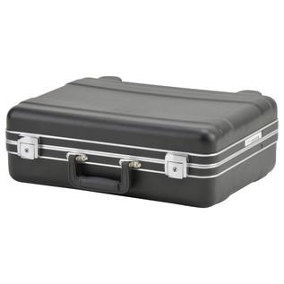 SKB Luggage Style Transport Case (1712-01) - Angled Closed 2