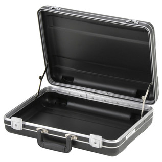SKB Luggage Style Transport Case (1712-02) - Angled Open 2