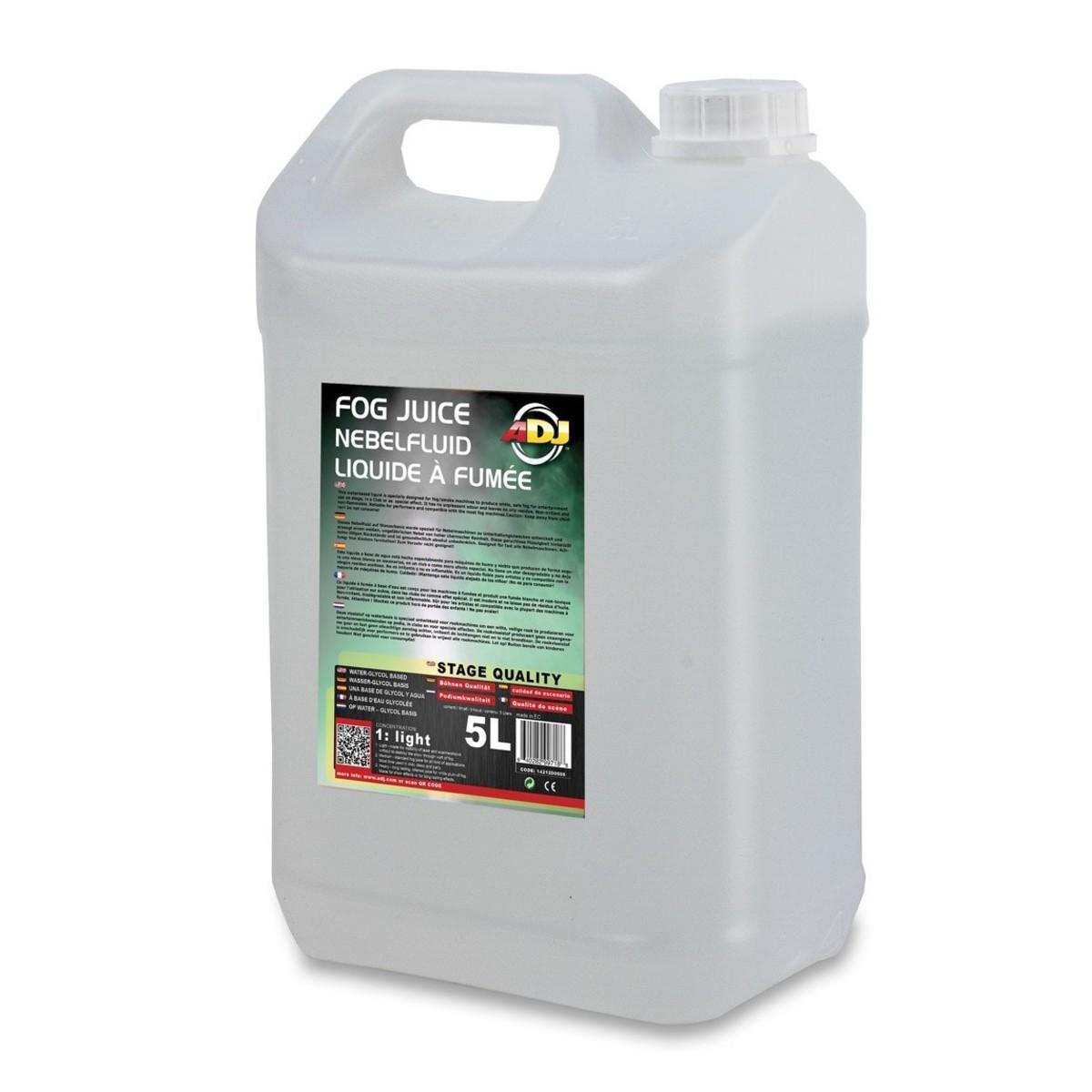 Image of ADJ Fog Juice 1 Light 5 Litre