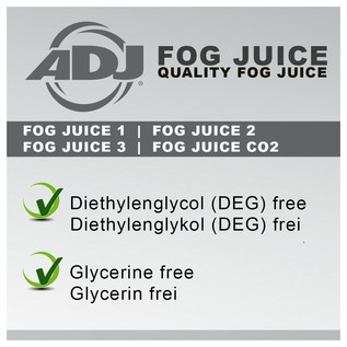 ADJ Fog Juice 2 Medium, 1 Litre