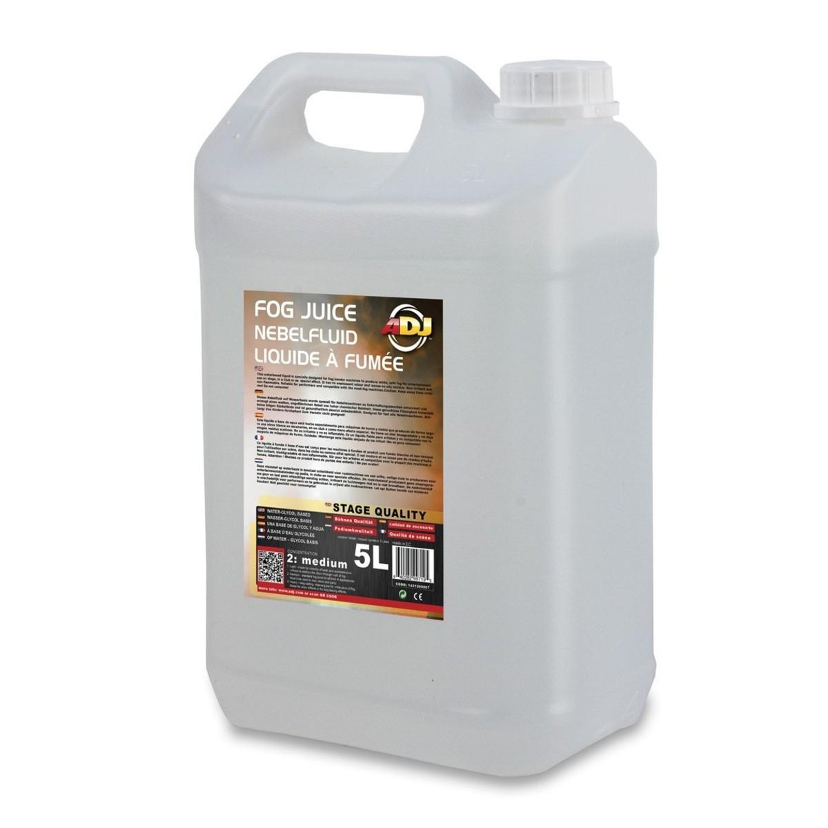 Image of ADJ Fog Juice 2 Medium 5 Litres