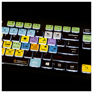 Editors Keys Backlit PC Keyboard for Sonar