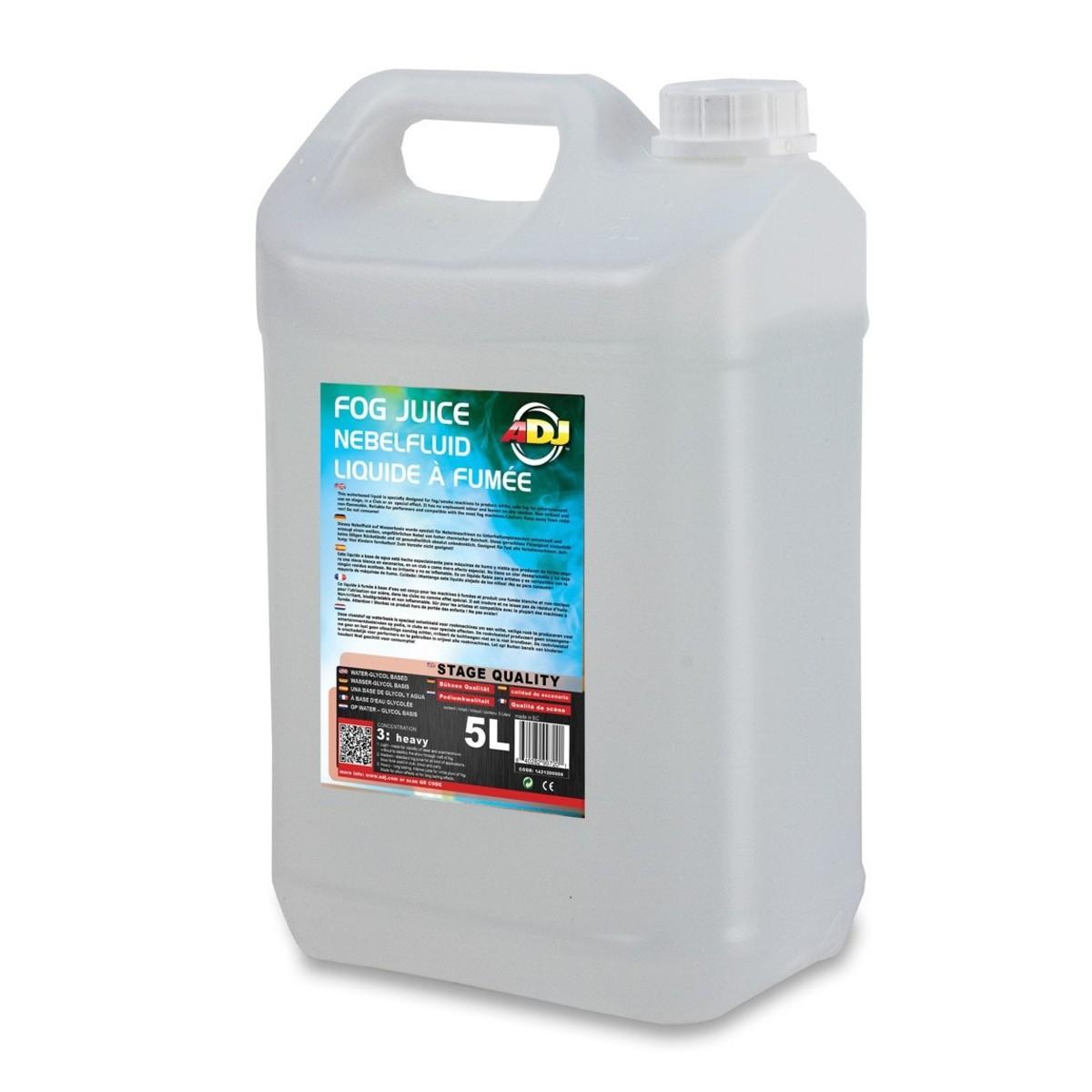 Image of ADJ Fog Juice 3 Heavy 5 Litres