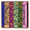 Pirastro Passione Cello D String, Ball End