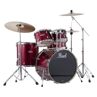 Pearl Export EXX 20'' Fusion Drum Kit, Wine Red