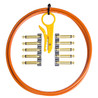 Lava Cable Original Solder Free Black/Gold Cable Kit, Orange