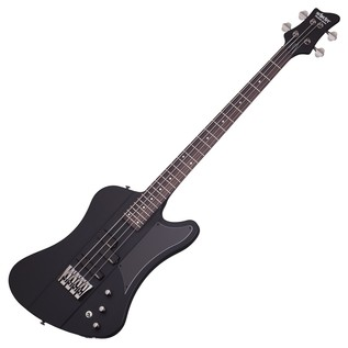 Schecter Sixx Bass Guitar, Satin Black
