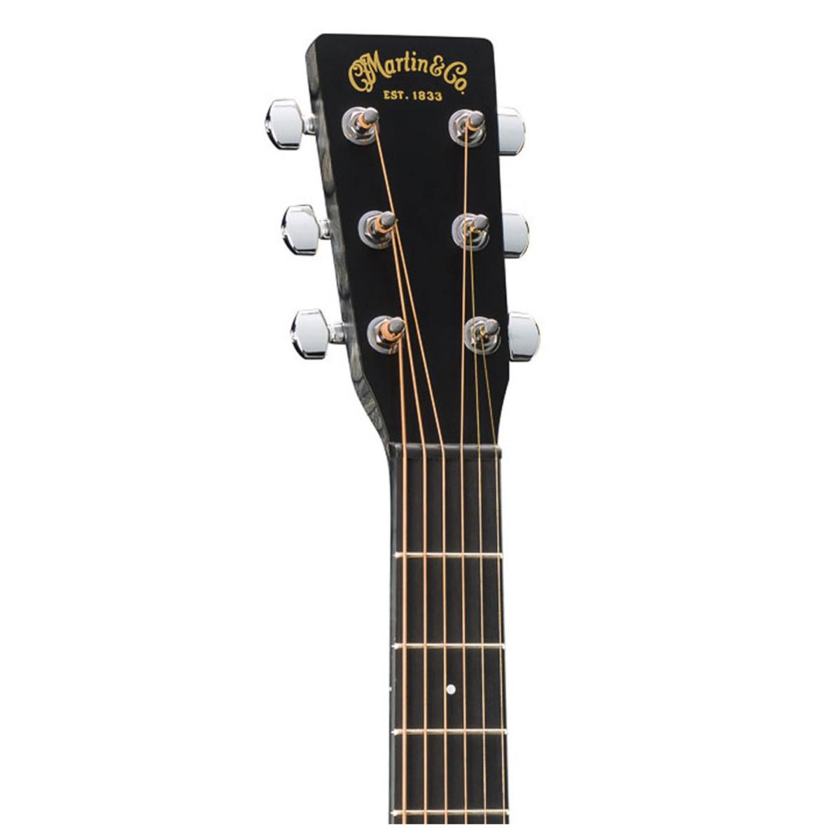 guitare electro acoustique de martin dcxae noir. Black Bedroom Furniture Sets. Home Design Ideas