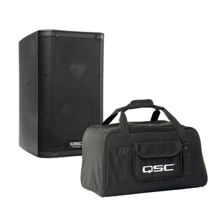 QSC K8 Active PA Speaker with Carry Bag