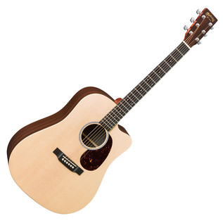 Martin DCX1RAE Electro Acoustic Guitar, Natural Whole