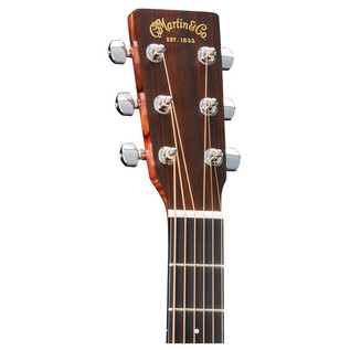 Martin DCX1RAE Electro Acoustic Guitar, Natural Headstock
