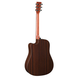 Martin DCX1RAE Electro Acoustic Guitar, Natural Back