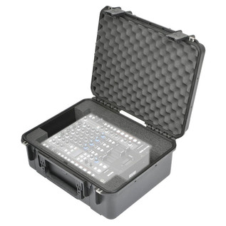SKB Rane MP2015 And Sixty-Four Mixer Case - Angled Open 2 (Mixers Not Included)