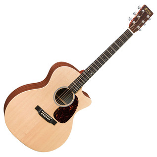 Martin GPCX1AE Electro Acoustic Guitar, Natural Whole