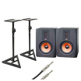 ESI uniK 05+ Active Studio Monitors with Free Stands