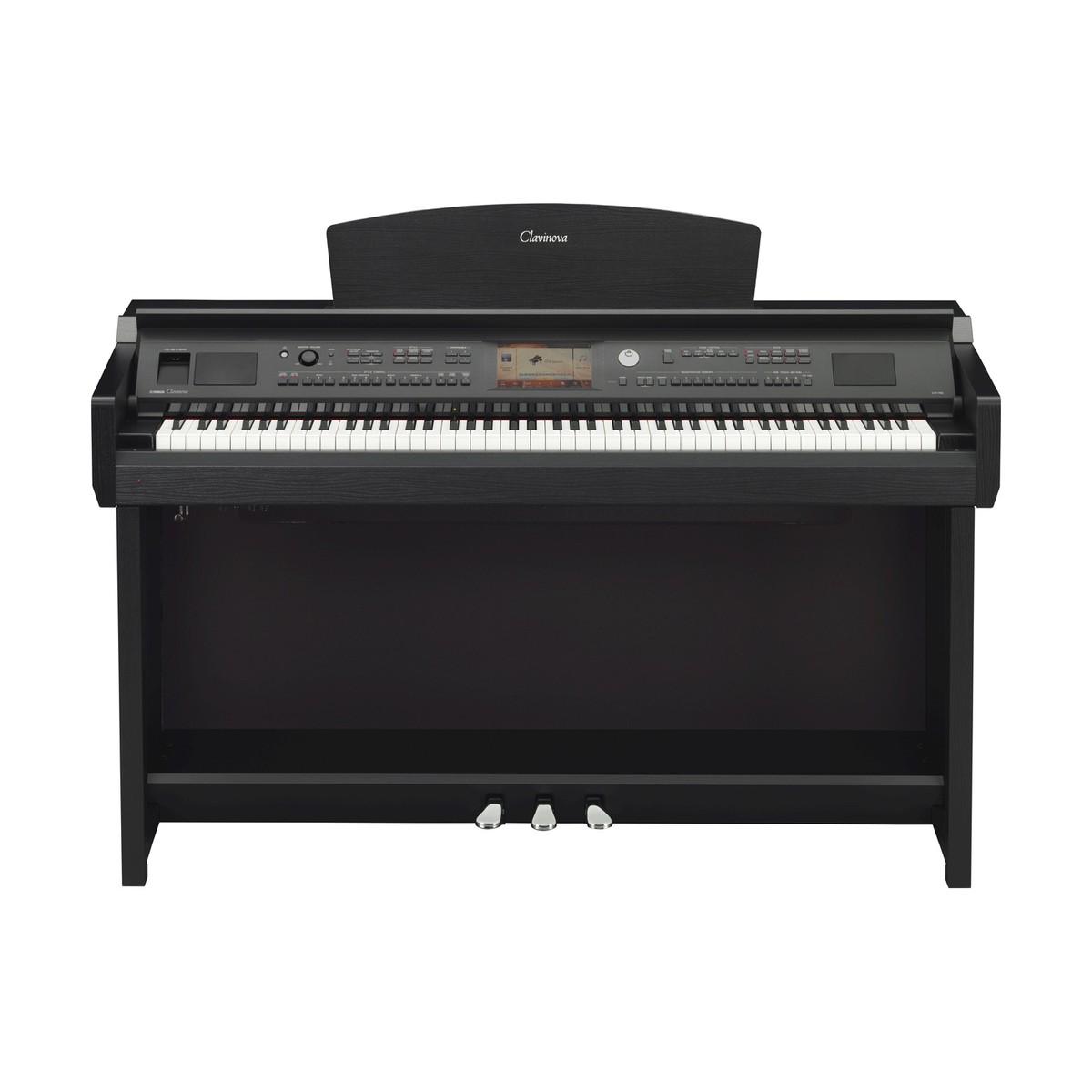 yamaha cvp705 clavinova digital piano black walnut at. Black Bedroom Furniture Sets. Home Design Ideas