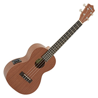 Deluxe Electro Acoustic Concert Ukulele by Gear4music