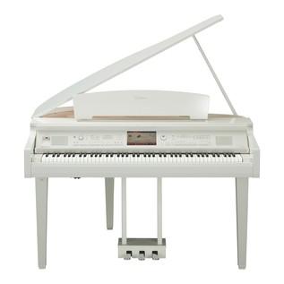Yamaha CVP709 Clavinova Digital Grand Piano, Polished White