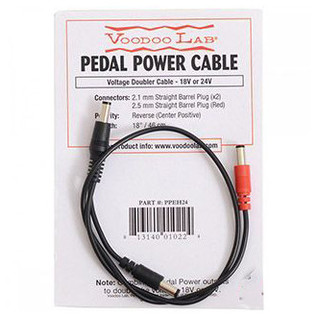 Voodoo Lab Straight To 2.5mm Straight Cable 18 Inch