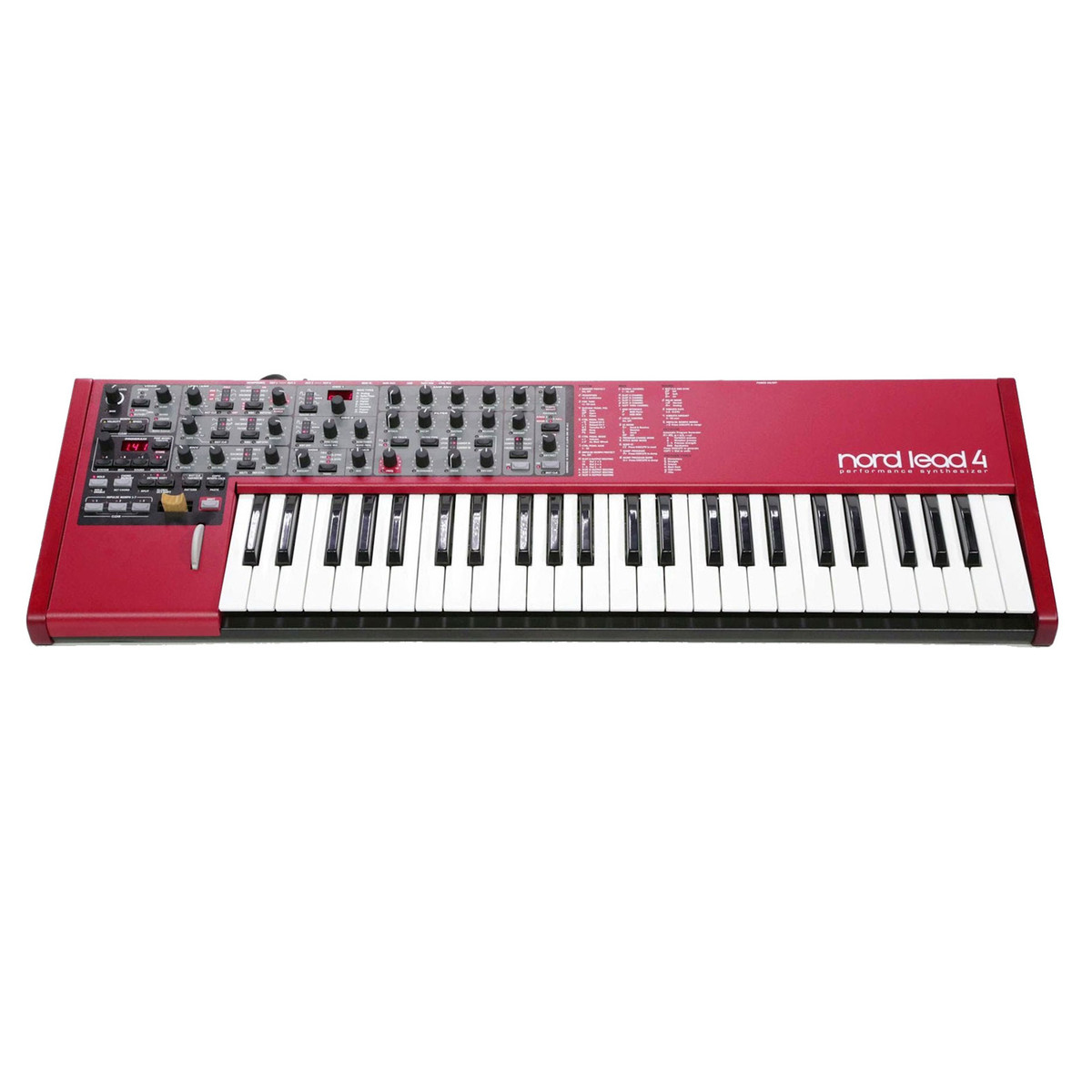 nord lead 4 performance synthesizer keyboard at. Black Bedroom Furniture Sets. Home Design Ideas