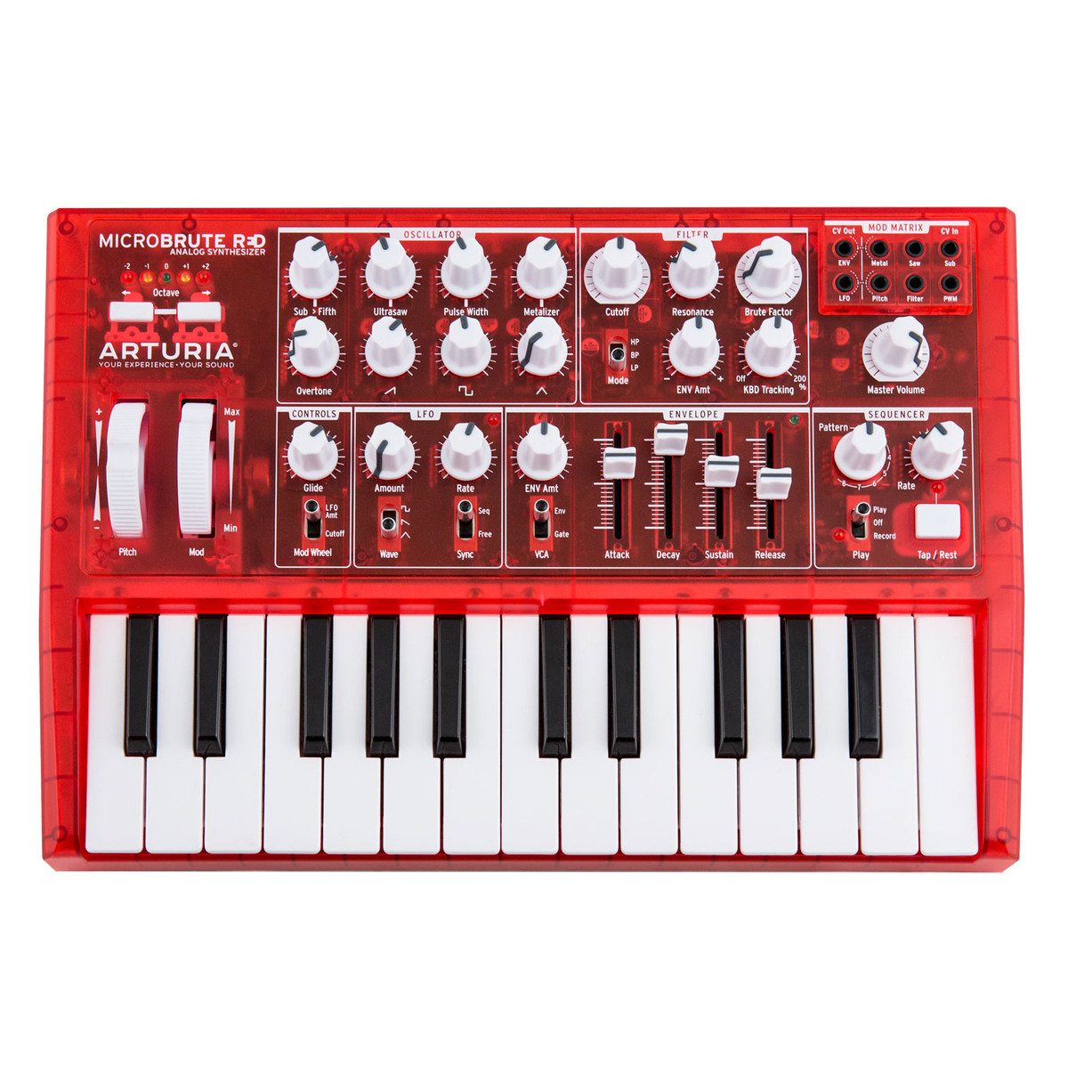 Image of Arturia MicroBrute Limited Edition Red