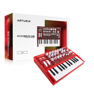 Arturia MicroBrute, Limited Edition Red
