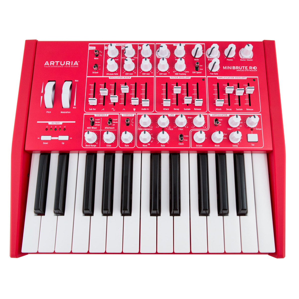 Image of Arturia MiniBrute Limited Edition Red