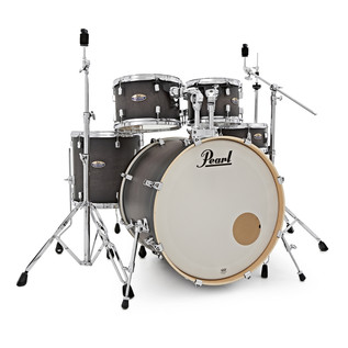 Pearl Decade Maple 22'' Fusion W/ Hardware Pack, Satin Blackburst