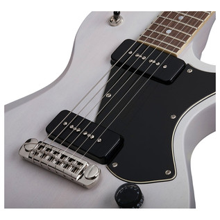 Schecter Solo-II Special Electric Guitar, White Pearl