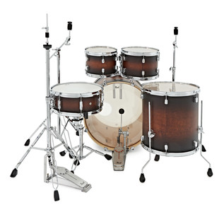 Pearl Decade Maple 22'' Am Fusion W/ Hardware Pack, Satin Brownburst