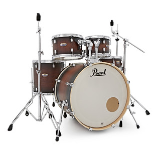Pearl Decade Maple 20'' Fusion W/ Hardware Pack, Satin Brownburst