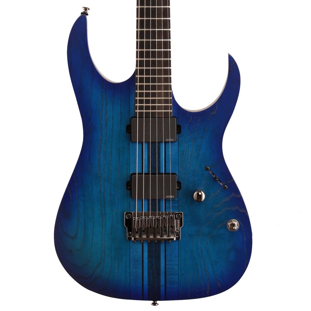 Ibanez Iron Label : disc ibanez rgit20fe iron label electric guitar sapphire blue flat b stock at ~ Vivirlamusica.com Haus und Dekorationen