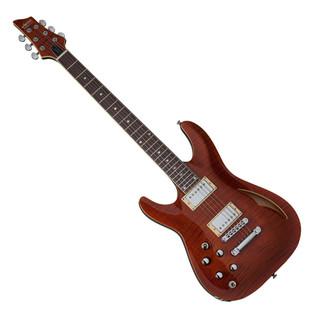 Schecter C-1 E/A Left Handed Guitar, Cat's Eye