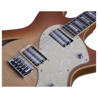 Schecter T S/H-12 Classic Electric Guitar, Vintage Burst