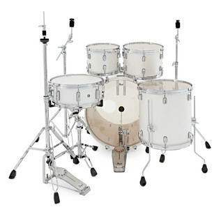 Pearl Decade Maple 22'' Fusion W/ Hardware Pack, White Satin Pearl