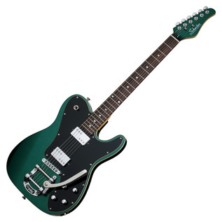 Schecter PT Fastback II B Electric Guitar, Dark Emerald Green