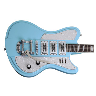 Schecter Ultra III Electric Guitar, Blue
