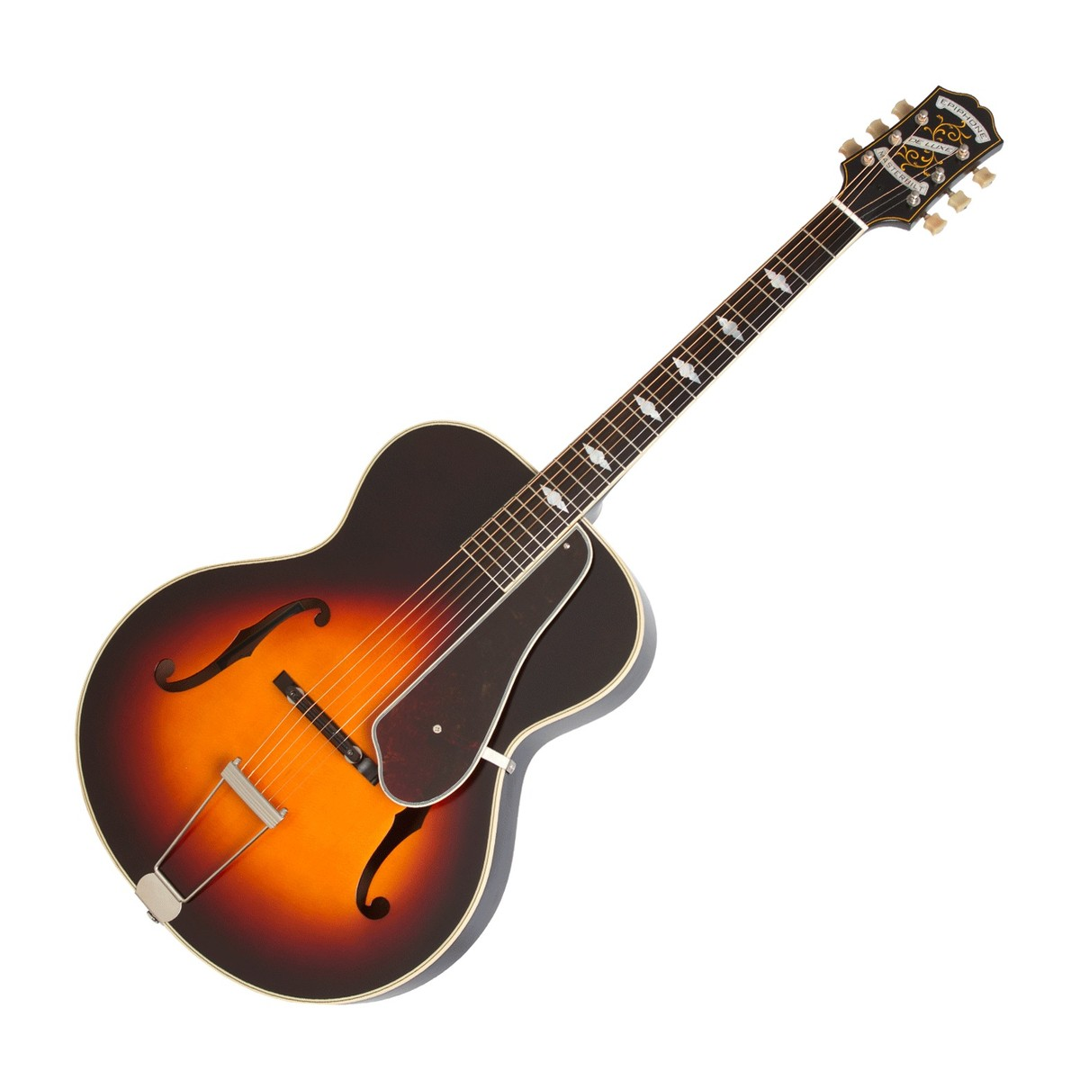 epiphone deluxe classic masterbilt century vintage sunburst at. Black Bedroom Furniture Sets. Home Design Ideas