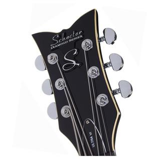 Schecter Ultra VI Electric Guitar, Black
