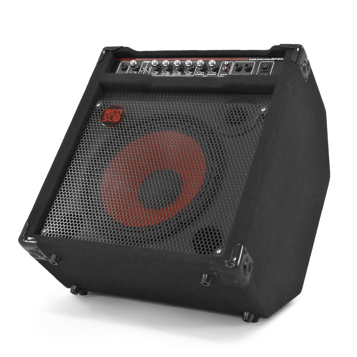 Bass Guitar To Amp : redsub bp80 80w bass guitar amplifier b stock at ~ Hamham.info Haus und Dekorationen