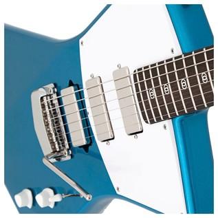 Music Man St. Vincent Signature Guitar, St Vincent Blue