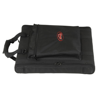 SKB 1U Soft Rack Case - Side View
