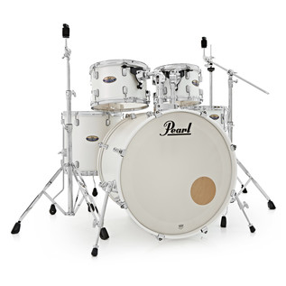 Pearl Decade Maple 22'' Fusion W/ Hardware Pack, White Satin Pearl