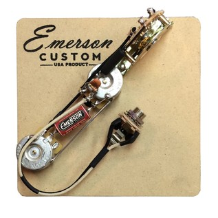 Emerson Custom Reverse Layout 3-Way Esquire Prewired Kit , 500k