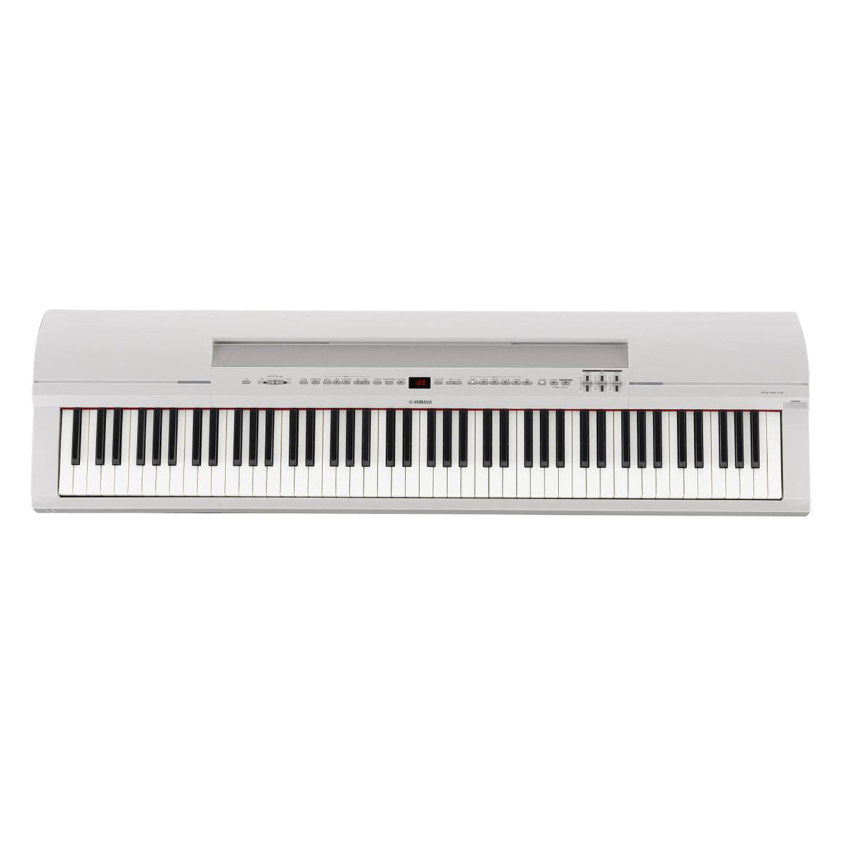 yamaha p series p 255 digital piano white x frame package