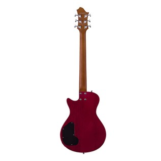 Hagstrom Ultra Swede ESN Electric Guitar, Wild Cherry Transparent