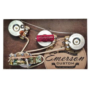 Emerson Custom 5-Way Strat Prewired Kit, 500k